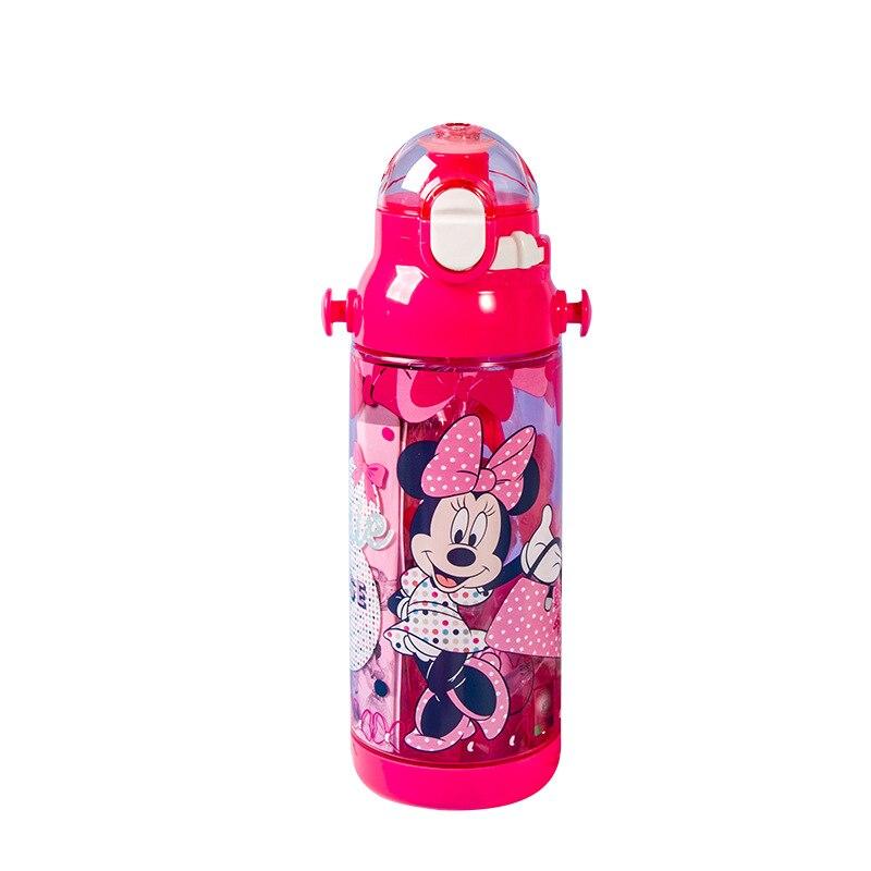 disney mickey minnie princesa criancas pp com palha bebe aprender a beber garrafa de plastico shatter