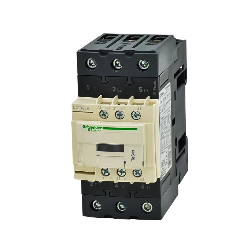 Genuine Schneider AC contactor LC1D65A AC220V LC1-D65AM7C 65A 380VGenuine Schneider AC contactor LC1D65A AC220V LC1-D65AM7C 65A 380V