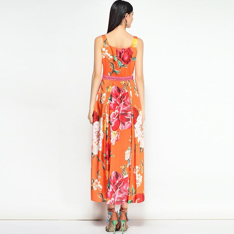 De D'été Maxi Vacances Art 2018 Livraison Sans Occasionnels Piste Express Femmes Floral Manches Longue Mode Imprimé Bohème Robe Rose 0xwwr5vaqA