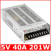 Electrical Equipment Supplies Power Supplies Switching Power Supply S Single Output Series S 201W 5V