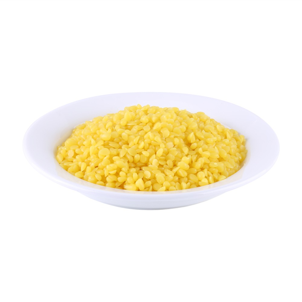 50g Yellow Food Grade Pure Natural Beeswax Cosmetics Materials For Handmade Soap Making  Material  Fixing A Sticking Drawer