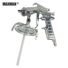 Powłoka spray samochodowy Gun znakowania dróg ciśnienia pneumatycznego cylindra wysokiego ciśnienia narzędzie do czyszczenia Airbrush dla modelowanie narzędzia malarskie tanie tanio MAXMAN Ciśnienie PNEUMATIC 2 0mm 1000 ml Domu DIY Pistolet wysokociśnieniowy Pistolet farby 1200 rpm ZF-037 PQ-2White