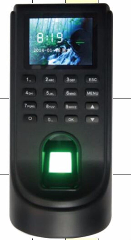 2.4 pollice Fingerprint/Password/ID Card Sistema di Controllo Accessi Presenze M52.4 pollice Fingerprint/Password/ID Card Sistema di Controllo Accessi Presenze M5