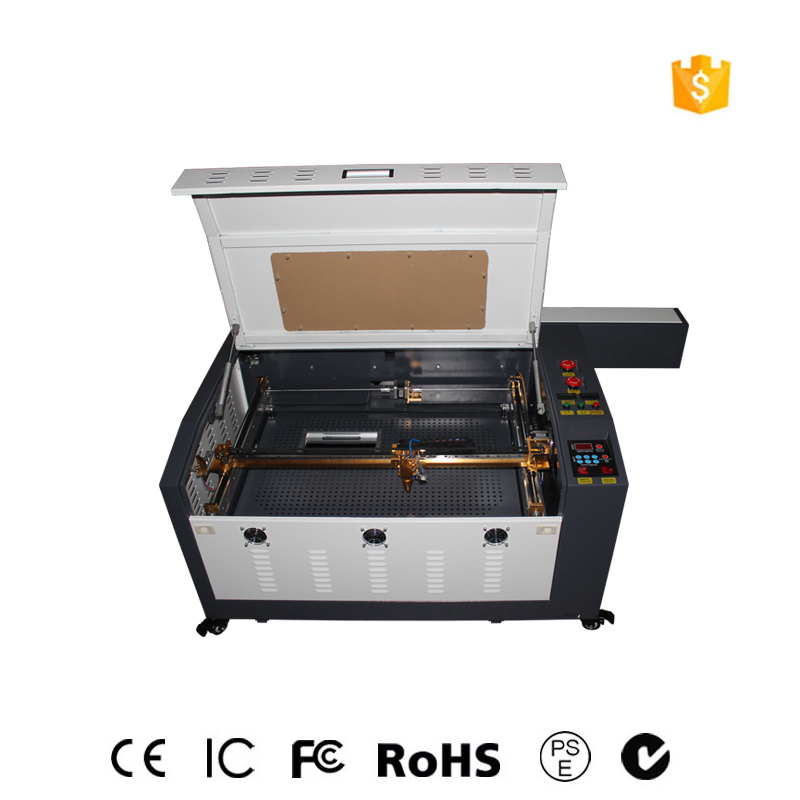 100w4060 laser engraving machine garment cutting machine / leather carbon dioxide laser metal cutting machine free shipping