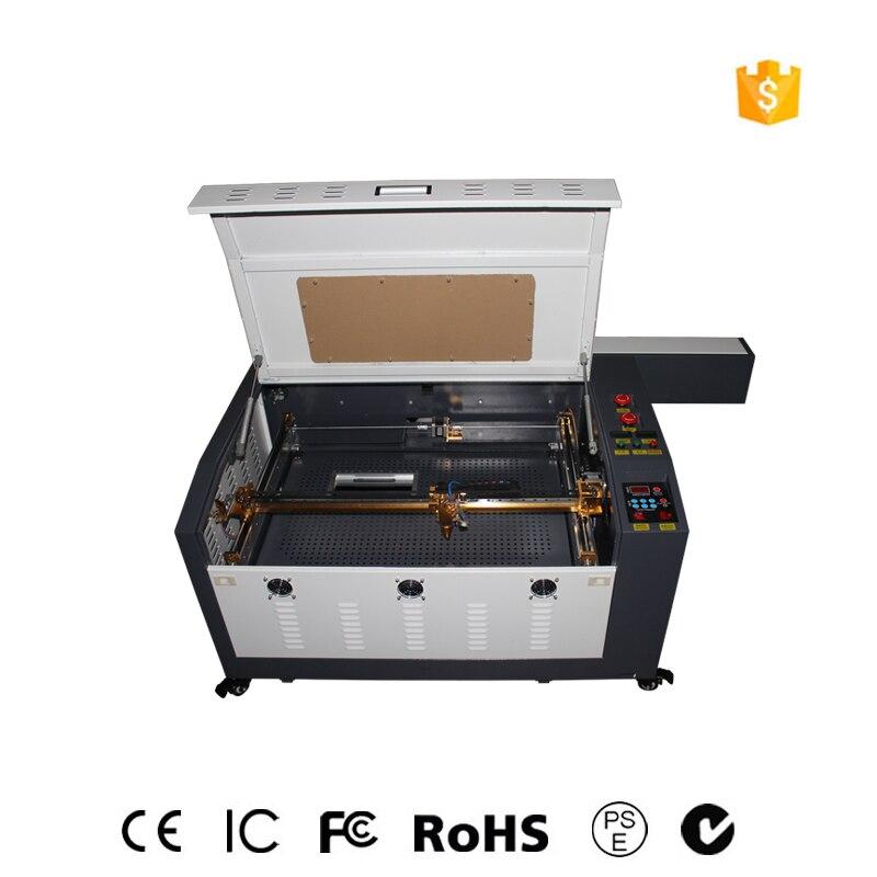 100w4060 laser machine de gravure vêtement machine de découpe/cuir dioxyde de carbone laser métal machine de découpe livraison gratuite
