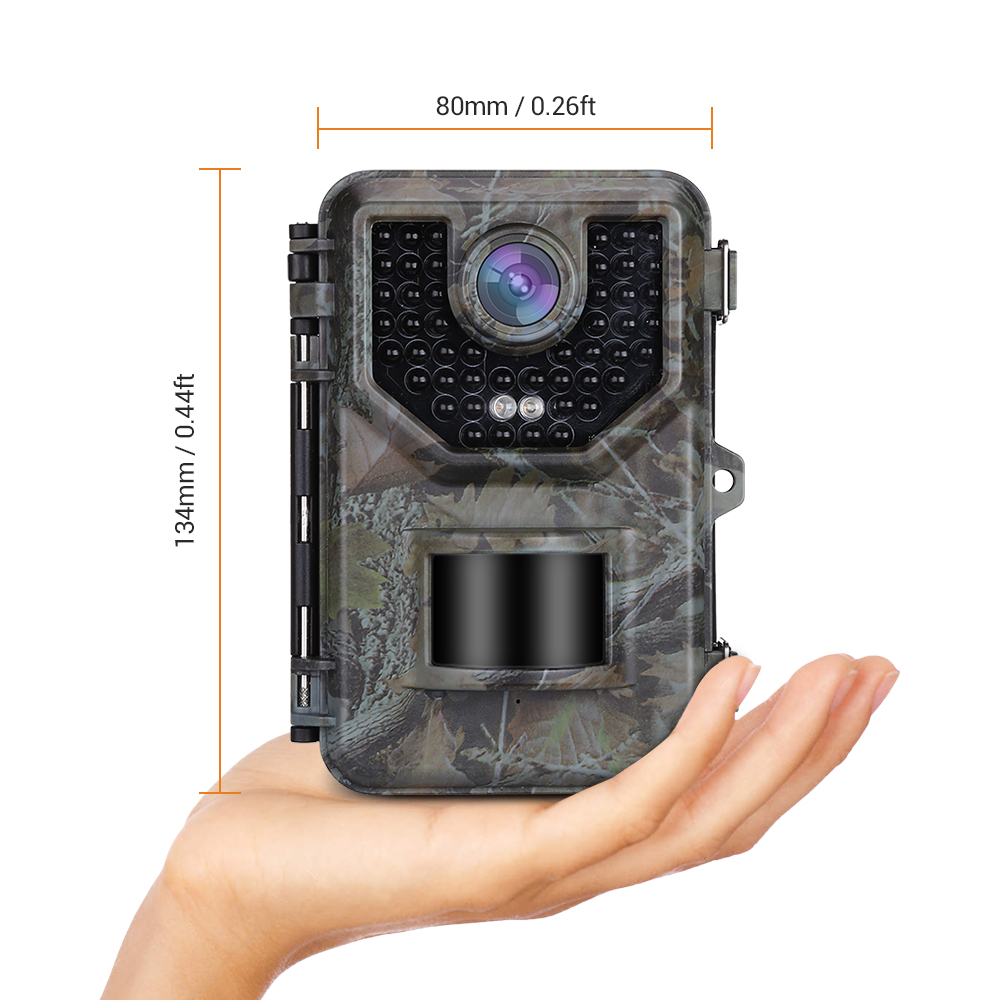Image 5 - BOBLOV E2 Trail Camera 16MP 1080P 48pcs Infrared LEDs Hunting Camera Waterproof Outdoor Wild Gamge Camera Photo Traps-in Hunting Cameras from Sports & Entertainment