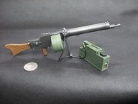 1/6 Scale Soldier Weapon Model Toys MG08/15 Water Cooled Machine Gun for 12 Action Figure