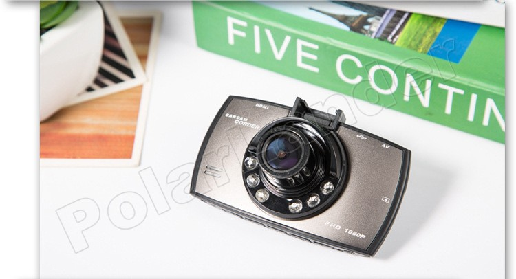 G30 2.7 inch LCD Car DVR 140 Degree Wide viewing Angle HD Car Camera Recorder Night Vision G-Sensor Dash Cam with rear camera