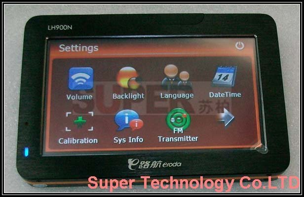 Free 2GB TF Card,Free Map Car GPS Navigation,4.3inch LCD LH900N Windows CE GPS navigator PPC UMPC