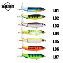 SeaKnight Whopper Plopper SK050 13g 19g 39g Fishing Lure 1P Topwater Hard Bait VMC Hook SeaBass Carp Fishing Lure Winter Fishing