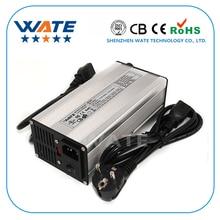 Envío libre 54.6 V cargador de 54.6 v 7A 7A bicicleta eléctrica cargador de batería de litio de 48 V batería de litio 54.6V7A cargador