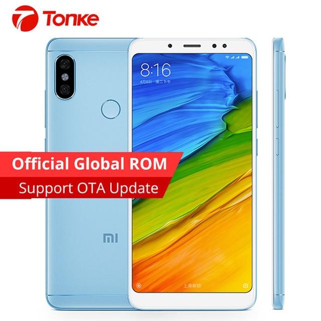 Original Global Firmware Xiaomi Redmi Note 5 3GB RAM 32GB ROM Snapdragon 636 Octa Core Full Screen Dual Camera 12MP+5MP Mobile
