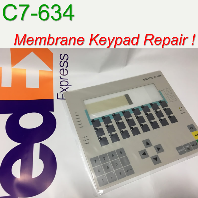 6ES7634 2BF01 0AE3 C7 634 Membrane Keypad for SIMATIC GEA HMI Panel repair do it yourself