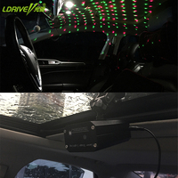 Romantic Atmosphere Car Interior Decorative Star Lights USD Interface In Computer Power Bank For Bed Ceiling