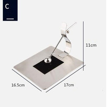Stainless steel tissue holder/Square tissue holder/ base/Hotel/napkin holder/table creative paper holder stainless steel hotsale quality cocktail table base only