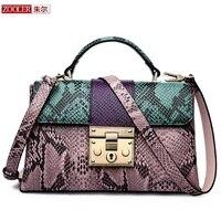 Zooler 0 прибыль! 2018 натуральная кожа сумка посыльного сумки стильные patchhwork женщины сумку дизайнер ПР Bolsa feminina #2958