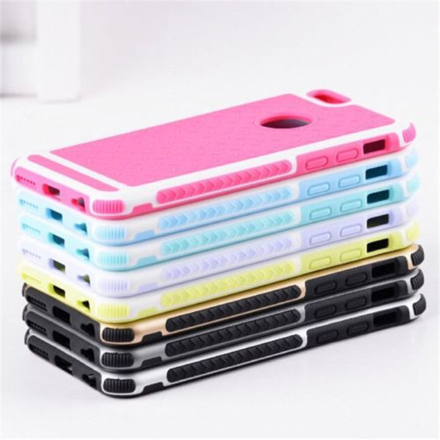 Ultra Thin Shockproof Rubber Cover For Apple iPhone 5 5S SE 6 6S 7 Plus