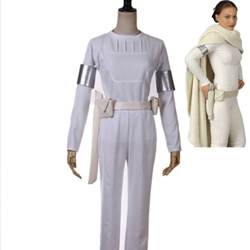 Star Wars 2 Attack Of The Clones Senator Padme Amidala White Cosplay Costume For Women Halloween Costumes-in Movie U0026 TV Costumes From Novelty U0026 ...  sc 1 st  Germanpascual.Com & Padme Amidala White Costume u0026 Princess Lea Sc 1 St Pinterest