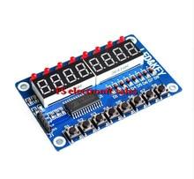 Key Display For AVR Arduino New 8-Bit Digital LED Tube 8-Bit TM1638 Module