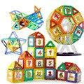 ¡ Venta caliente! imán Mini Juego de Modelos y de Construcción de Juguete De Plástico Bloques de Construcción Magnética Técnica Ladrillos Niños Aprendizaje y Juguetes Educativos
