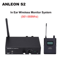For ANLEON S2 Wireless In ear Monitor System UHF Stereo IEM System Stage Monitoring 561 568Mhz NTC Antenna Xiomi