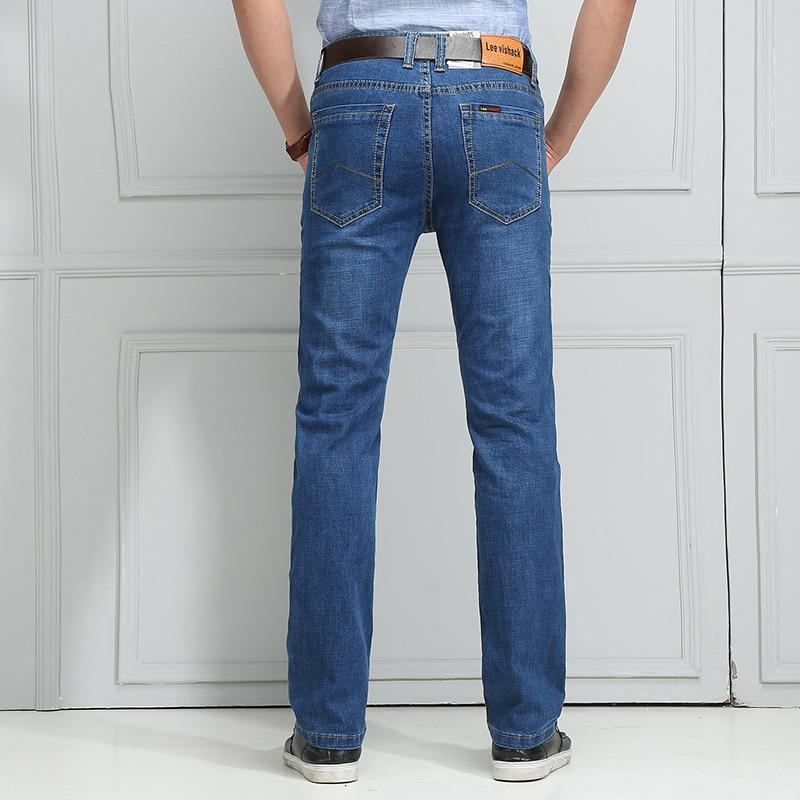 Gi. amagi Verano hombre Jeans Tramo Recto Slim Fit Famosa Marca Azul ...