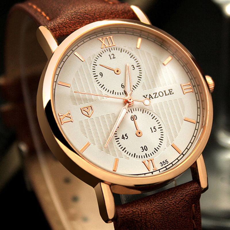Quartz Watch Men Watches Top Brand Luxury Famous Wristwatch Male Watch