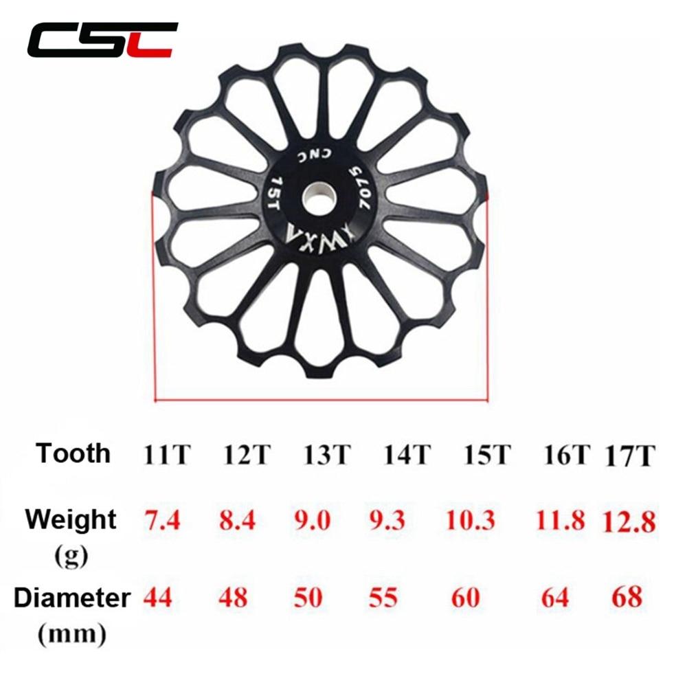 Derailleur Road-Bike-Guide-Roller Ceramic-Bearing 17t-Wheel Rear Pulley 10T 14T 16T 15T