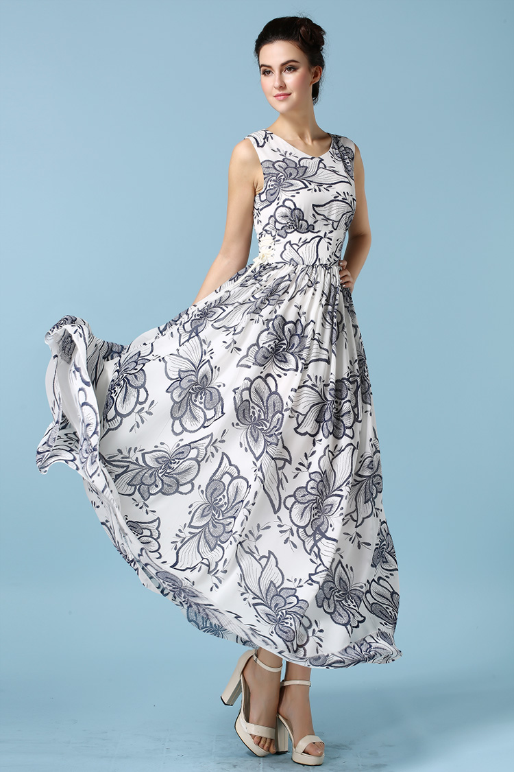 High quality empire waist maternity dresses buy cheap empire waist new bohemian women dress sweetheart fit and flare empire waist floral printed robe maxi tunic vintage ombrellifo Image collections