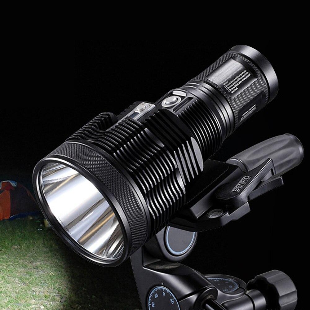 Livraison Gratuite NITECORE TM36Lite SBT-70 PA-C2 1800 Lumen lampe de poche LED rechargeable LED 1100 Mètres Distance De Faisceau 4*18650 Batterie