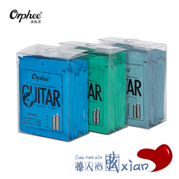 10 Sets of Orphee VX120/130/140 4/5/6-String Electric Bass Strings Hexagonal Carbon Steel 10% Nicketl Alloy Wholesales