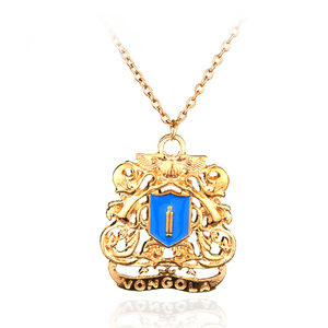 Free Shipping Japan Anime Tutor Pattern Necklace Katekyo Hitman Reborn Cosplay Pendant Necklace For Men And Women Jewelry(China)