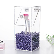 Clear Acrylic Makeup Brushes Organizer