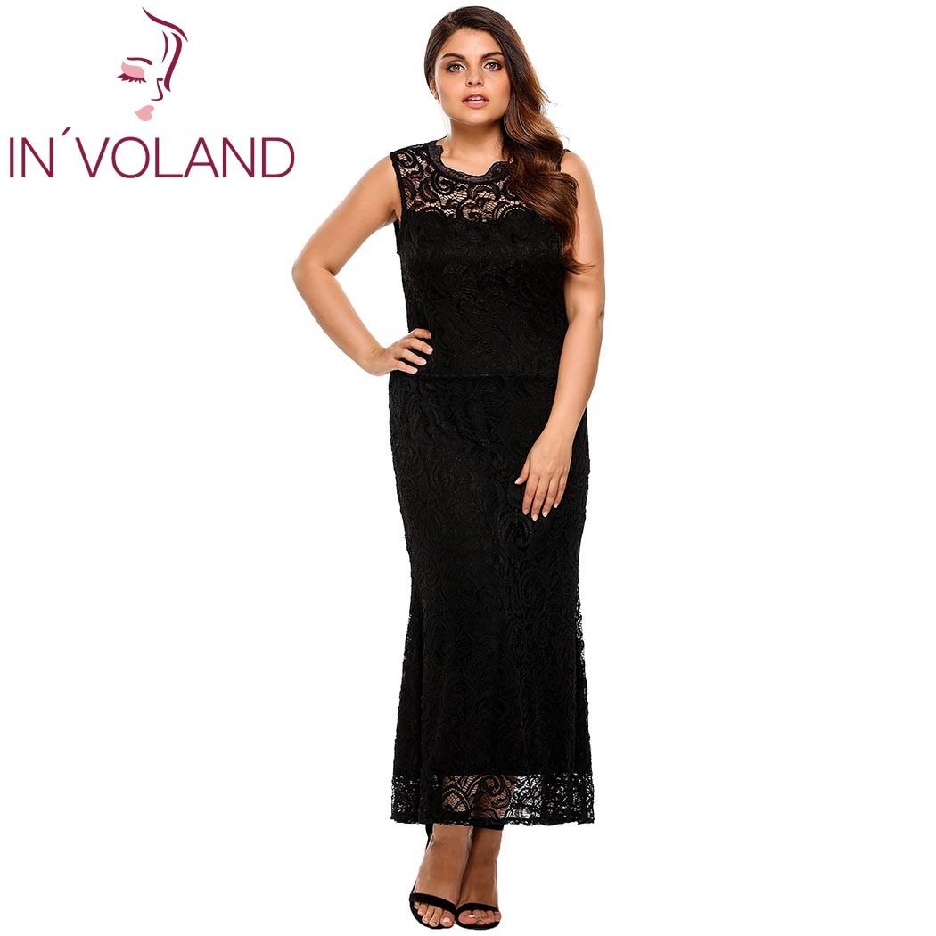 IN'VOLAND ქალის მაქმანი კაბა - ქალის ტანსაცმელი - ფოტო 3