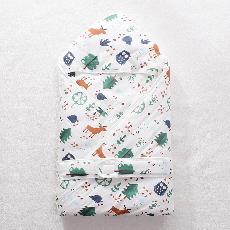 0-1 Baby Umarmung Decke Kinder Wilde Kapuze Umarmung Decke Umschlag Kawaii Mode Umarmung Decke Neugeborene Baby Quilts Winter Wärme Hochglanzpoliert