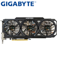 GIGABYTE Graphics Card Original GTX 760 2GB 256Bit GDDR5 Video Cards For NVIDIA VGA Cards Geforce
