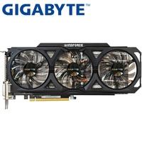 GIGABYTE Graphics Card Original GTX 760 2GB 256Bit GDDR5 Video Cards For NVIDIA VGA Cards Geforce