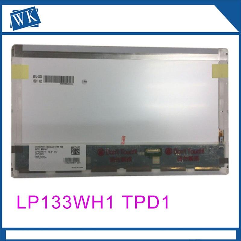 High quality 13.3laptop LCD Screen LP133WH1 (TP) (D1) LP133WH1 TPD1 For DELL E4310 notbook 30PINHigh quality 13.3laptop LCD Screen LP133WH1 (TP) (D1) LP133WH1 TPD1 For DELL E4310 notbook 30PIN