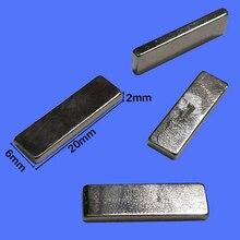 20*2*6mm Automatische wasmachine deur cover kleine magneet inductie magneet voor LG wasmachine