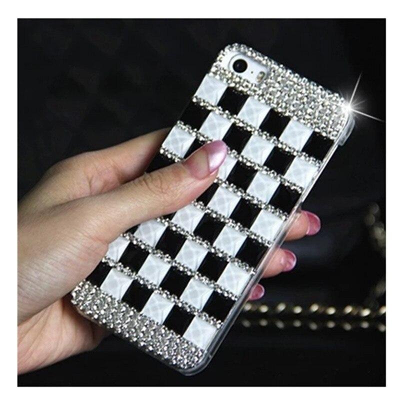 CHANYAOZY For Samsung Galaxy J1 J2 J3 J5 2016 J7 2016 Phone Case Cover luxury 3D Rhinestone strass glitter hard PC cute Cases