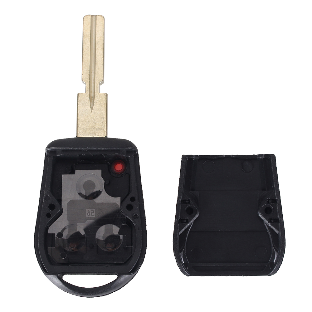 מוצר Keyyou 3 Button Uncut Blade Car Key Replacement