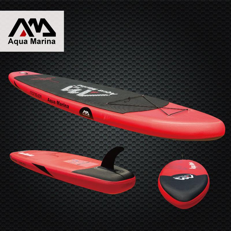 Planche de surf 365*82*15 AQUA MARINA MONSTRE planche de stand up paddle gonflable stand up paddle conseil surf kayak sport bateaux gonflables A01002 - 4