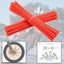 Motorcycles Universal Bike Motorcycle Wheel spoke skins cover For SUZUKI DRZ125 DRZ125L RM85 RMZ250 RMZ450 RM85L RMX250 RMX450Z стоимость