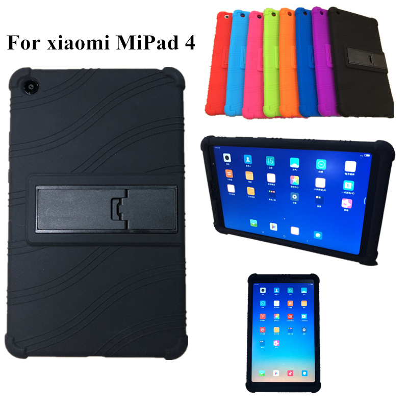 цена на Case For Xiaomi Mi Pad 4 MiPad4 8.0'' Ultra Thin Colorful Silicon Tablet PC shell For Mi pad4 mipad 4 2018 Tablet Protector case