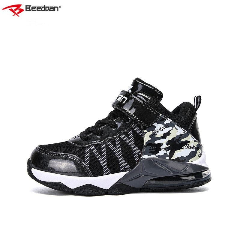 Beedpan Brand 2018 New Kids Shoes Winter Sneakers Casual Leather Children Shoes Sneakers Warm Autumn Boys Sport Shoes Running