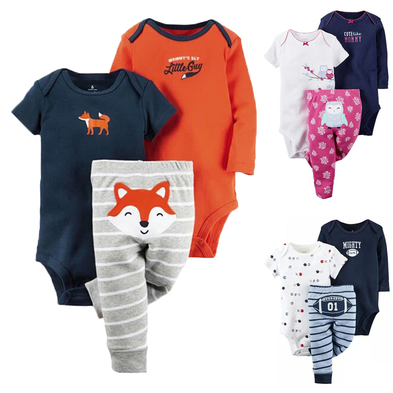 2017 Baby Rompers Spring Baby Boy Clothes Newborn Clothing Brand Baby Girl Clothes Roupas Bebe Infant Baby Jumpsuit Kids Costume 2pcs baby boy clothing set autumn baby boy clothes cotton children clothing roupas bebe infant baby costume kids t shirt pants