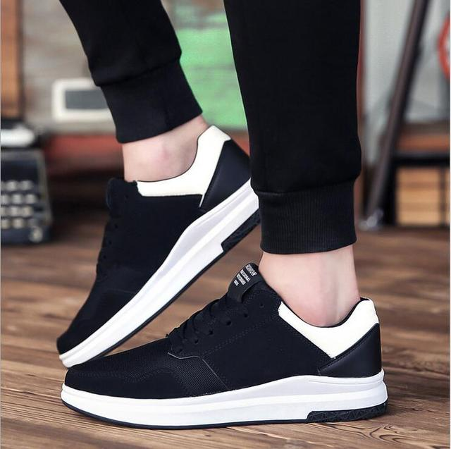 f4b77b478d8ad9 High Quality Fashion Men Breathable Casual Shoes Men s Luxury Branded  Designer Male Rubber Sole Shoes Zapatillas