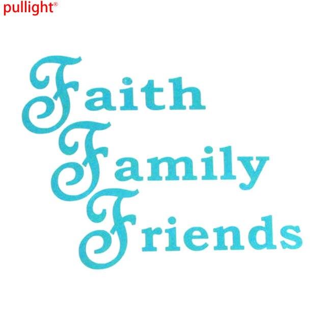 online shop phrases faith family friends oracal vinyl sticker car