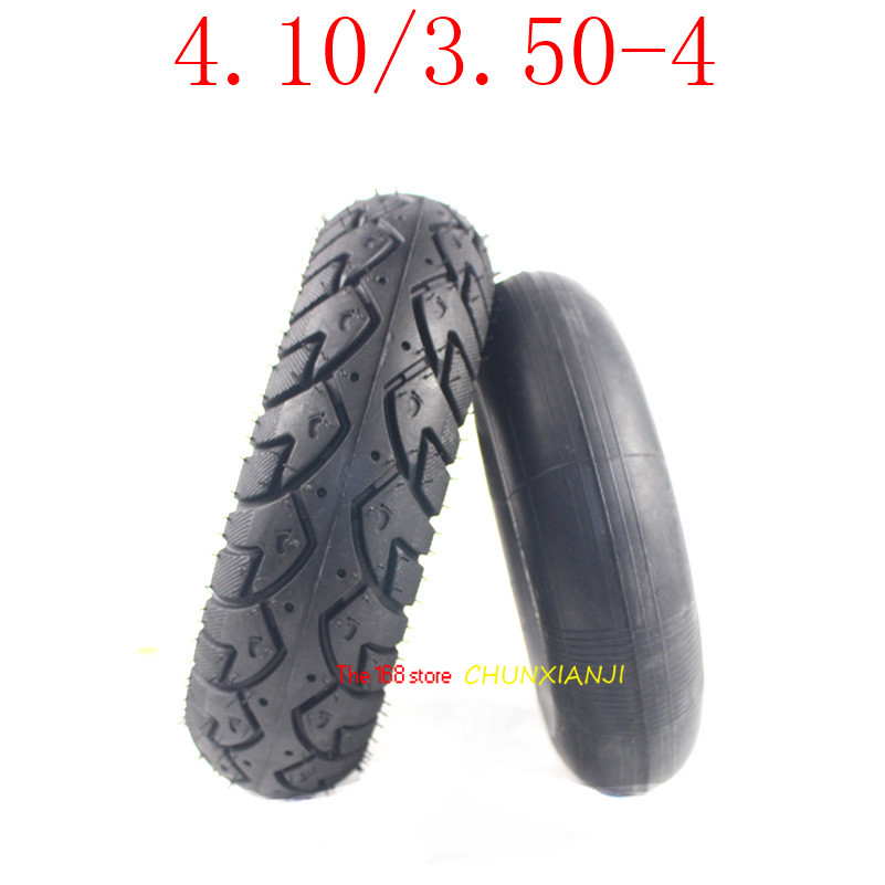 High Performance 4.10/3.50-4  Tyre 410/ 350-4 Electric Scooter Inner And Outer Tire