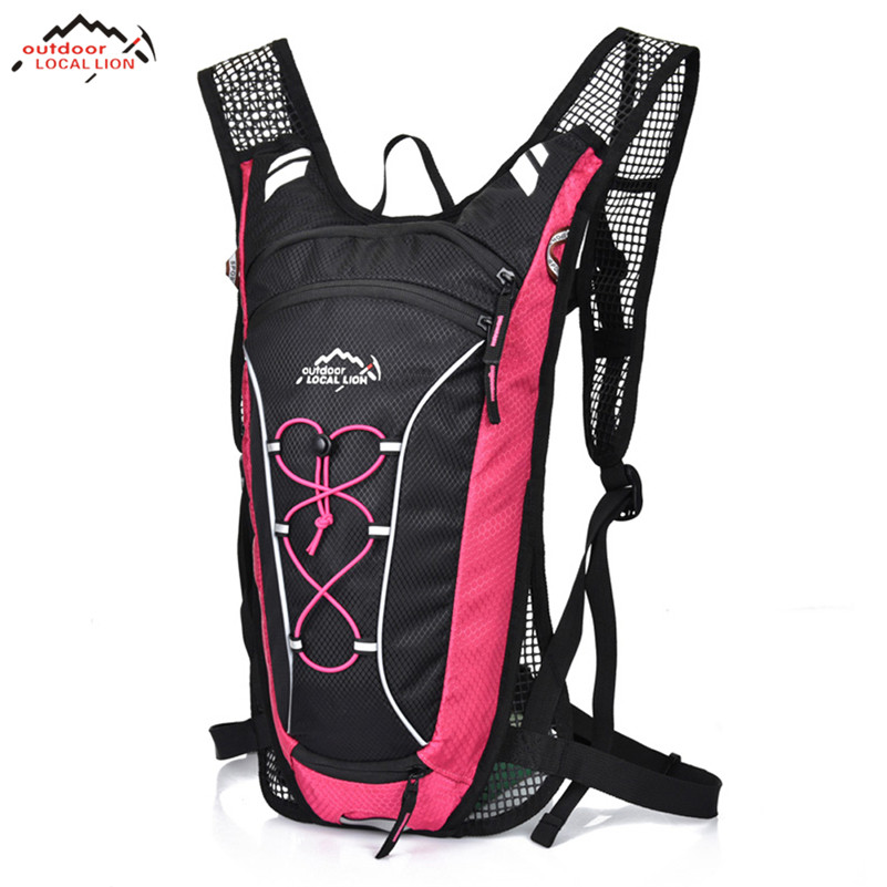 LOCAL LION Super Water Bag Cycling Backpack Ultralight Sport Hiking Climbing Travel Backpack Mountain Road Bicycle Bag Backpacks new 15l cycling bicycle water bag road mountain bike sport running outdoor hiking backpacks